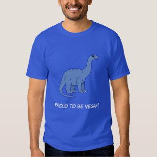 Vegan Apatosaurus Tee Shirt