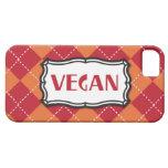 Vegan Argyle Pattern iPhone 5 Cover