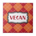 Vegan Argyle Pattern Tile