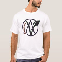 "Vegan Atheist ""Evolve"" T-Shirt"