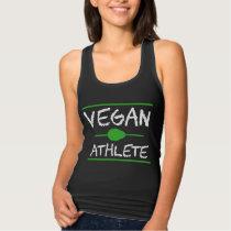 Vegan Athlete Running Women Vegan Gift Tank Top