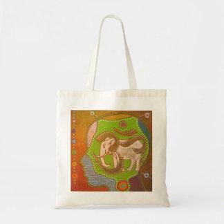 Vegan AUM Tote Bag