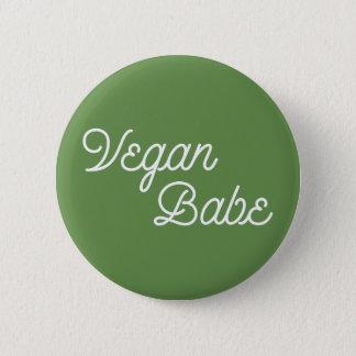 Vegan Babe Button