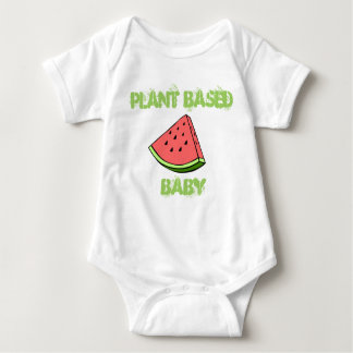 VEGAN BABY BABY BODYSUIT