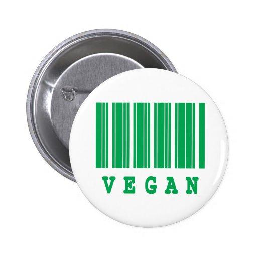 vegan barcode design buttons