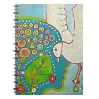 vegan bird connection notebooks