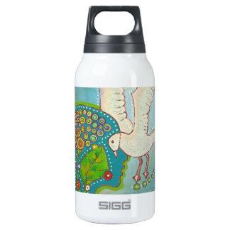Vegan bird thermos bottle