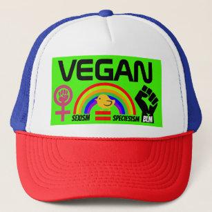 8ea5dbf07ed Vegan BLM Feminism LGBTQ Gay Women Civil Rights Trucker Hat