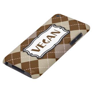 Vegan (Brown Argyle) iPod Touch Case-Mate Case