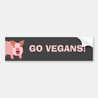 Vegan Bumpersticker Bumper Sticker