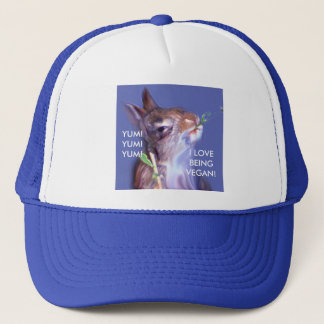 Vegan Bunny Trucker Hat