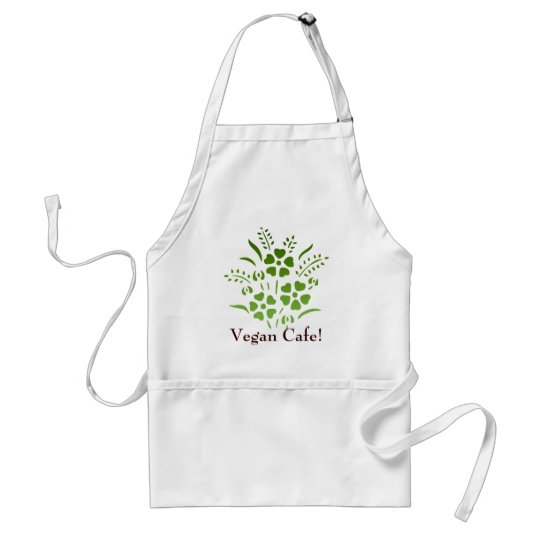 Vegan Cafe! Adult Apron