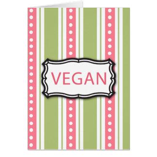 Vegan Card