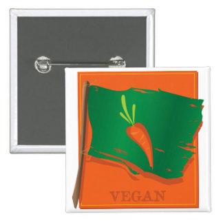 Vegan Carrot Flag Buttons