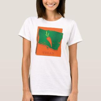 Vegan Carrot Flag T-Shirt