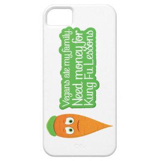 Vegan Carrot Vector Design Phone Cover