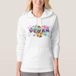 Vegan ~ Celebration 100% Cotton Hoodie