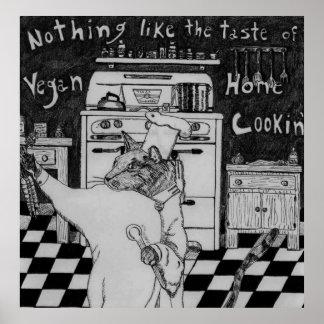 Vegan Chef Maurice Poster