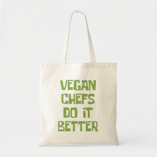 Vegan chefs do it better tote bag