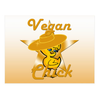 Vegan Chick #10 Postcard