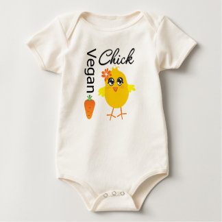Vegan Chick 2 Baby Creeper