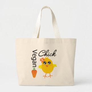 Vegan Chick 2 Canvas Bag