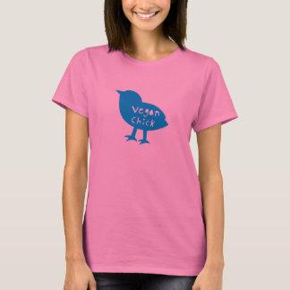 Vegan Chick Blue T-Shirt