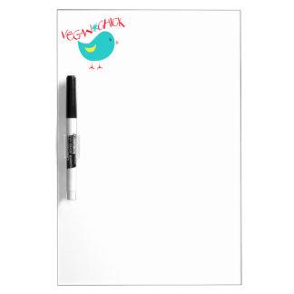 Vegan Chick Dry-Erase Whiteboard