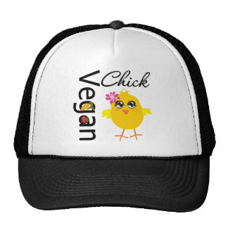 Vegan Chick Trucker Hat
