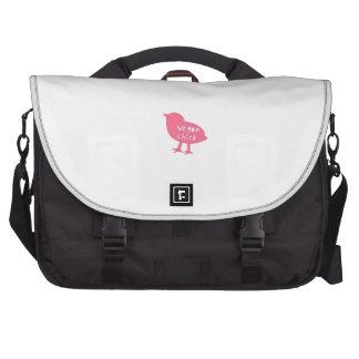Vegan Chick Laptop Computer Bag