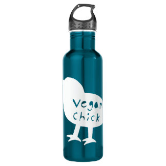 Vegan Chick Water Bottle