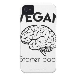 Vegan Choke Pack iPhone 4 Case-Mate Case
