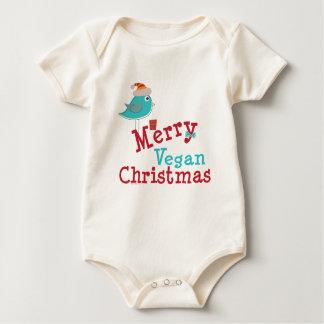 Vegan Christmas Baby Bodysuit