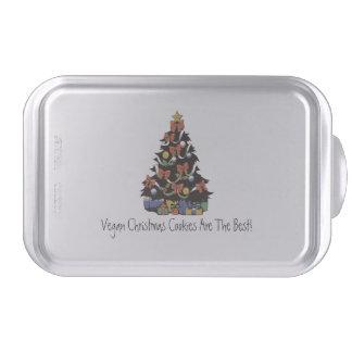 Vegan Christmas Cookies Pan Cake Pan