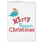 Vegan Christmas Greeting Card