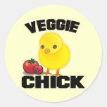 Vegan Classic Round Sticker