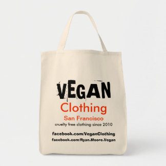 VEGAN Clothing Promo Bag SFG