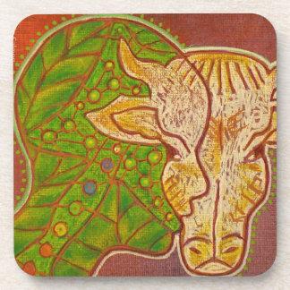 vegan coasters