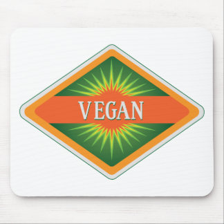 Vegan Colors Logo Mouse Pad