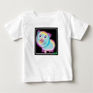 Vegan coloured pig baby T-Shirt