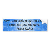 Vegan Compassion Inspirational Quote Bumper Sticker