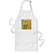 Vegan connection cow long apron