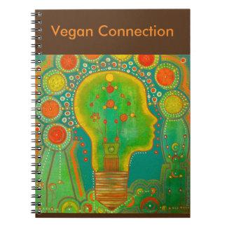 Vegan connection notebook