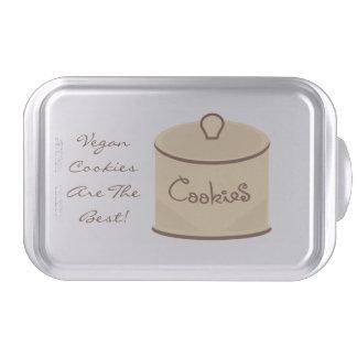 """Vegan Cookies Are The Best"" Cake Pan"