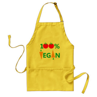 Vegan Cooking Cute Humorous Apron