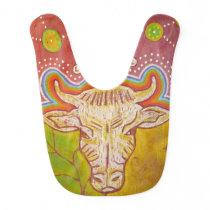 Vegan cow bib