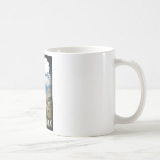 vegan cow coffee mug