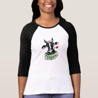 Vegan cow t shirt