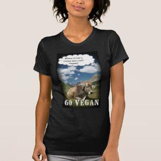 vegan cow t shirts