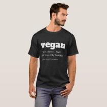 Vegan Definition T-Shirt, Funny Vegan Shirt